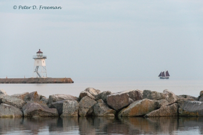 Lake Superior Schooner